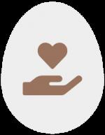 Icon Hand mit Herz